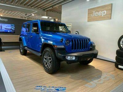 gebraucht Jeep Wrangler Wrangler Sahara 2.0 Plugin Hybrid *LED*Leder*