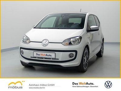 gebraucht VW up! 1.0 UP!+PANO+NAVI+LEDER+GRA+PDC+KLIMA+ALU