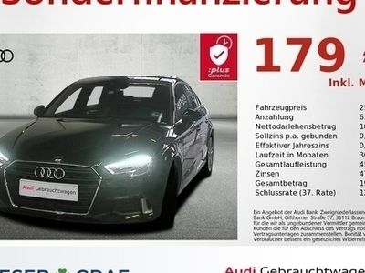gebraucht Audi A3 Limousine sport 35 TDI 110 kW (150 PS) S tronic