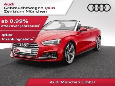 gebraucht Audi A5 Cabriolet 40 TFSI S tronic 3x S line Navi+/Matrix/Virtual/B&O/Leder
