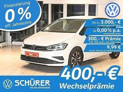 gebraucht VW Golf Sportsvan IQ.DRIVE 1.0TSI LED°Navi°ACC°RKam°Blindspot°Ausparkassistent°Lane+Light-Assist