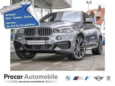 gebraucht BMW X6 xDrive40d M Sportpaket Navi Prof. Klimaaut.