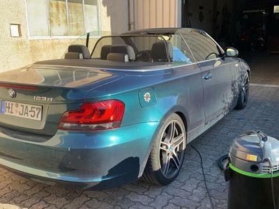gebraucht BMW 123 Cabriolet E88 D ATM TÜV Gewindefahrwerk Performance 313 1M