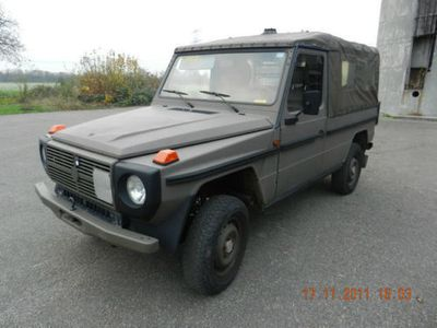 gebraucht Mercedes 230 GE Militär,4x4, GRÜNE Umweltplakete ORIGINAL