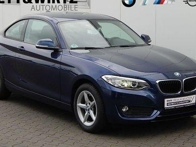 gebraucht BMW 218 d Coupe Advantage Xenon PDC Sitzhzg Klima