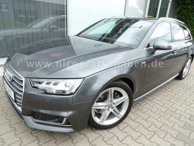 gebraucht Audi A4 Avant SPORT ULTRA S LINE NAVI AHK MATRIX PANO