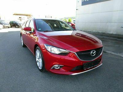 gebraucht Mazda 6 2.2 SKYACTIV-D 175 i-ELOOP Sports-Line_XEN_NAV