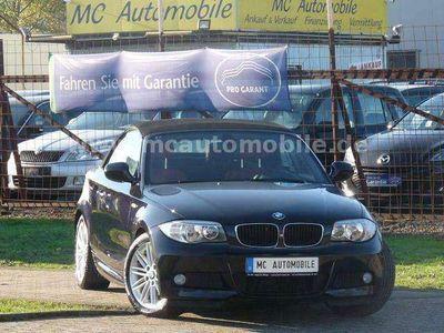 gebraucht BMW 120 Cabriolet Baureihe 1 120d M-Paket*LEDER*TEMPOMAT !!