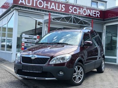 gebraucht Skoda Roomster Scout Plus Edition**KLIMA*AHK*PDC**