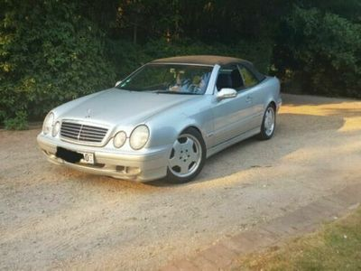 käytetty Mercedes CLK200 AMG