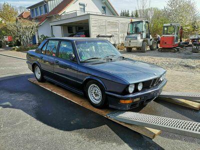 gebraucht BMW M535 i E28 royalblau - sehr gute Ausstattung als Limousine in Kahl am Main
