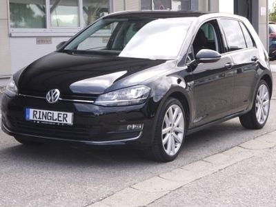gebraucht VW Golf Lounge BMT 1.4 TSI Xenon AHK-klappbar PDCv+h Multif.Lenkrad Knieairbag