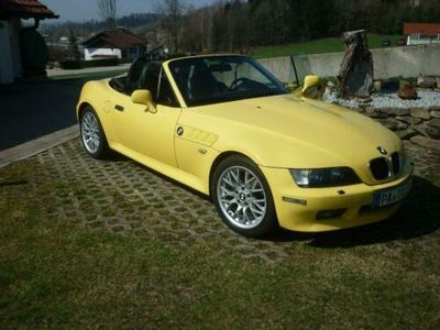 käytetty BMW 2002 Z3 Roadster 1,8, Edition Sport, Bj Dakargelb