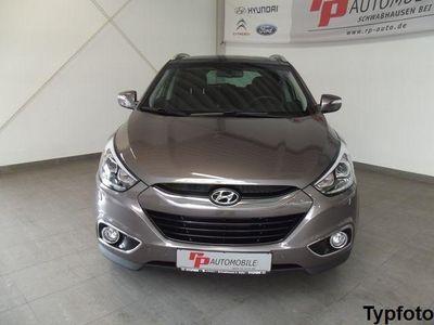 gebraucht Hyundai ix35 2.0 CRDi Xenon, Navi & Panoramadach 4WD