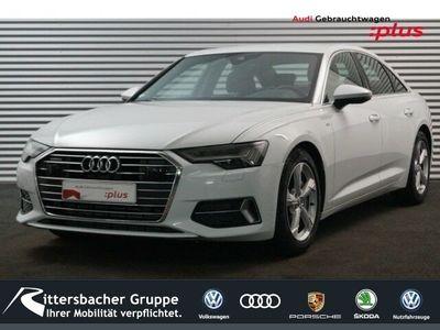 gebraucht Audi A6 Limousine sport 50 TDI S Line HD Matrix Leder B&O MMI Navi plus Assist.Paket Tour & Stadt