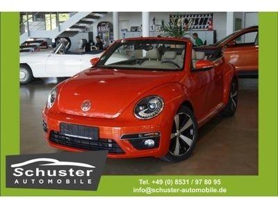gebraucht VW Beetle Cabrio Sport 2.0 TDI R-Line DSG Leder Nav