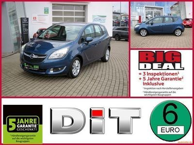 gebraucht Opel Meriva B 1,4 Drive Klimaautomatik, BT, LM-Felgen