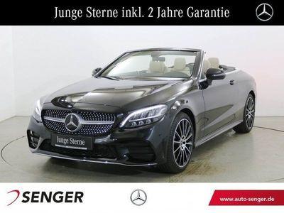 gebraucht Mercedes C200 Cabriolet AMG Line Navi LED Rückfahrkamera