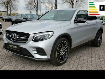 gebraucht Mercedes GLC350 d 4M Coupé AMG Night+Comand+HUD+360°+20