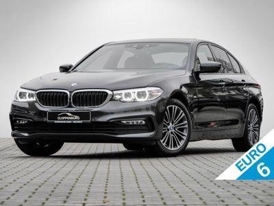 gebraucht BMW 520 d xDrive Limousine Sport Line Head-Up HiFi
