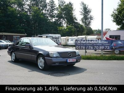 gebraucht Mercedes S600 Coupe *Top Zustand* Leder Klima Tempomat
