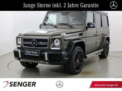 gebraucht Mercedes G63 AMG AMG Edition 463 Drivers-Pack AHK Standhzg.