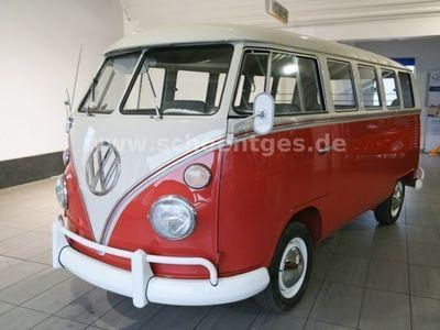 gebraucht VW T1 Deluxe Deutsches Fahrzeug Mitteldurchgang
