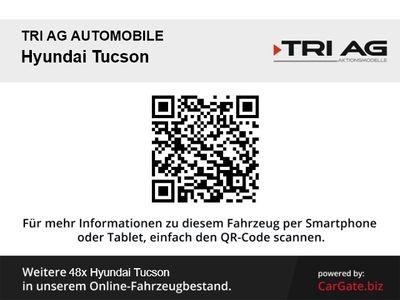 gebraucht Hyundai Tucson Advantage 2WD 1.6 Navi Rückfahrkam. 2-Zonen-Klimaaut. SHZ LED-hinten LED-Tagfahrlicht