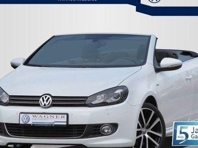 gebraucht VW Golf Cabriolet LOUNGE 1.4 TSI DSG
