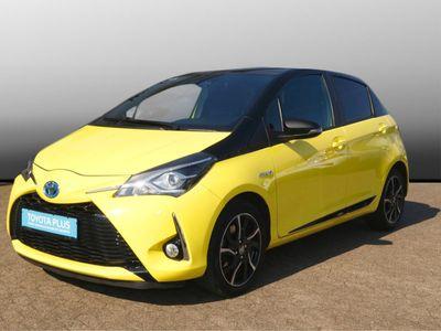 used Toyota Yaris Hybrid Style Selection