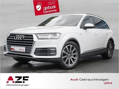 gebraucht Audi Q7 3.0 TDI qu. tip. S line+AHK+Leder+Luftfahrwerk