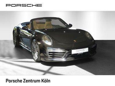 gebraucht Porsche 911 Turbo Cabriolet 991 PDK LED Sitzbel SWA AbstRegel BiColorLeder