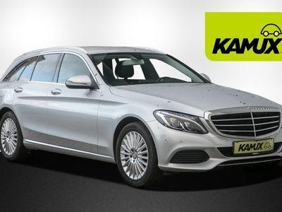 gebraucht Mercedes C220 T BlueTEC / d Exclusive +ILS +Kamera +Leder/Anthrazhit