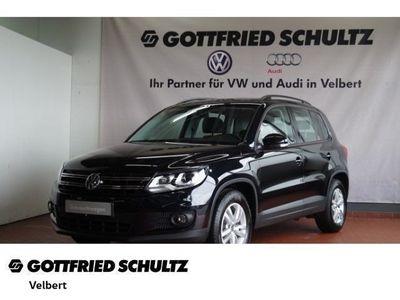 gebraucht VW Tiguan TRENDLINE 2.0 TDI BMT - Klima,Schiebedach,Xenon,Sitzheizung,Alu,Servo,
