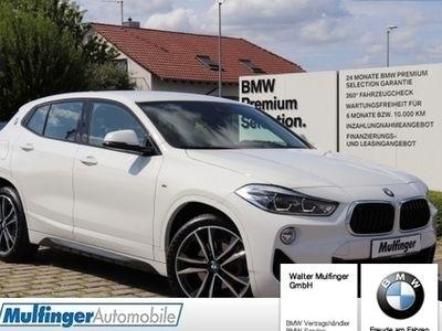 "gebraucht BMW X2 sDrive18i M Sport LED Navi Sitzh.Temp.PDC 19"""