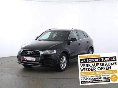 gebraucht Audi Q3 Design 2.0 TDI quattro S tronic Xenon|Navi schwarz