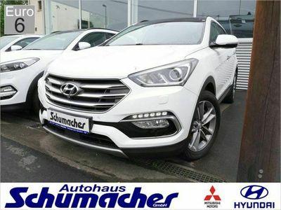 gebraucht Hyundai Santa Fe 2.2 CRDi 4WD Premium NAVI LED ACC EU6