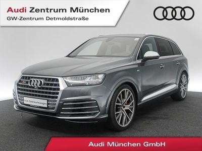 "gebraucht Audi SQ7 4.0 TDI qu. HUD Virtual Assistenz MatrixLED Pano BOSE Sitzbel./Massage 22"" tiptronic"