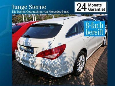 gebraucht Mercedes CLA180 Shooting Brake 7G-DCT Chrom-Paket Sitzh.