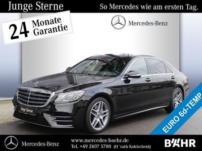 gebraucht Mercedes S400 d 4M lang AMG/Comand/Multibeam/360°/Pano AMG Line