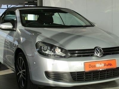 begagnad VW Golf Cabriolet BlueMotion Technology Rechtslenke