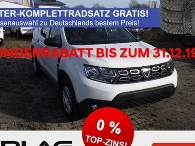 gebraucht Dacia Duster II Essential SCe 115 RDC Klima LED-Tagfahrlicht CD AUX USB MP3 ESP BC NSW Gar.