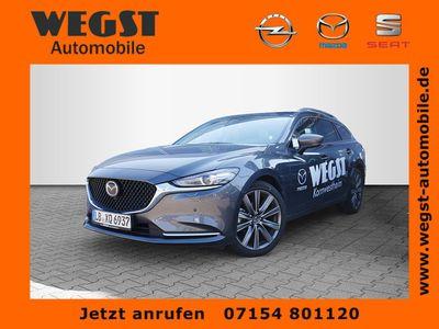 gebraucht Mazda 6 Kombi SKYACTIVE-G 194 Sports-Line HUD ACC