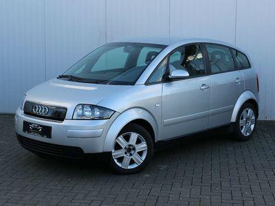 gebraucht Audi A2 1.4*TÜV-NEU*SCHECKHEFT*KLIMAAUTOMATIK*EFH*