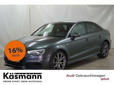 gebraucht Audi A3 Limousine 2.0 TDI S line LED+NAVI+GRA+PDC+SITZH