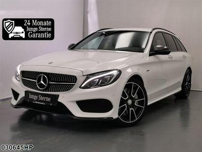 gebraucht Mercedes C450 AMG T 4M Burmester Carbon Kamera Comand