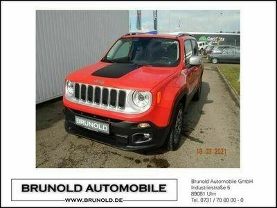 gebraucht Jeep Renegade Limited 2.0l MultiJet 140PS als SUV/Geländewagen/Pickup in Ulm-Lehr