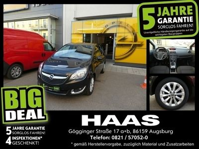 gebraucht Opel Meriva B 1.4 Turbo drive Sitz- & Lenkradheizung