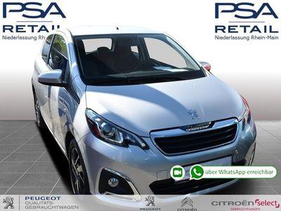 gebraucht Peugeot 108 VTI 72 S&S Allure *KLIMAAUT.*SITZH.*ALU*KAMERA*