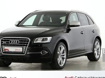 gebraucht Audi SQ5 3.0 quattro TIPTR LEDER PANO NAVI AHK XENON - Leder,Klima,Schiebedach,Xenon,Sitzheizung,Alu,Servo,AHK,